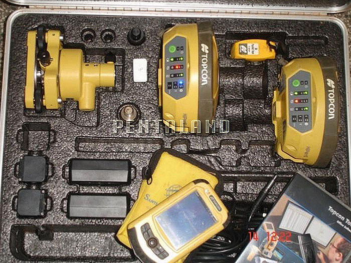 Topcon Hiper Ii Gnss Rtk Gps System With Fc 25 Pentaland