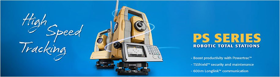 Topcon PS Series Robotic Total Stations